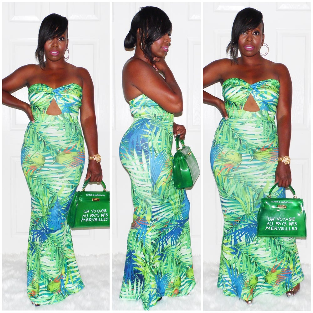 Image of TRENDING TROPIC MAXI DRESS