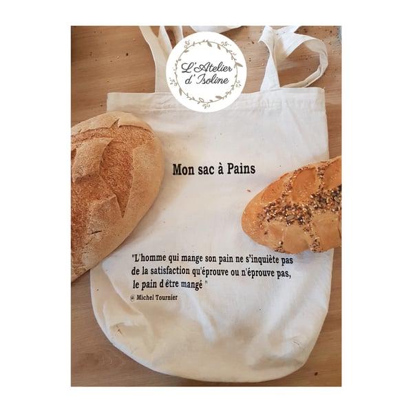 Image of Sac à pains 100% biologique