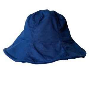 Image of Linen Sun Hat. (Navy)