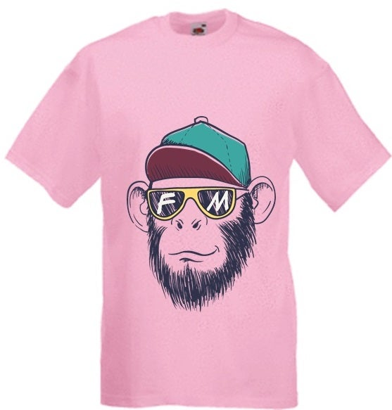Image of FM t-shirt (Pink)