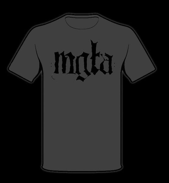 Image of MGŁA - 'NO SOLACE' men's t-shirt