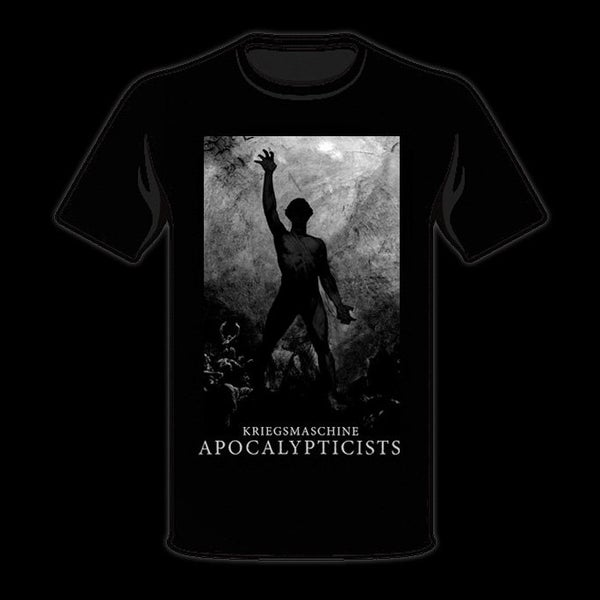 Image of KRIEGSMASCHINE - 'Apocalypticists' men's t-shirt