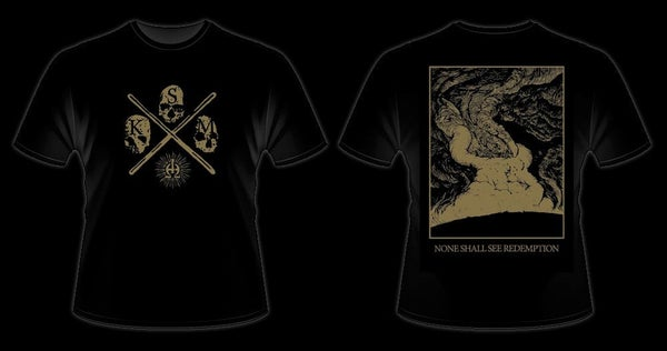 Image of KRIEGSMASCHINE - 'Enemy of Man' men's t-shirt