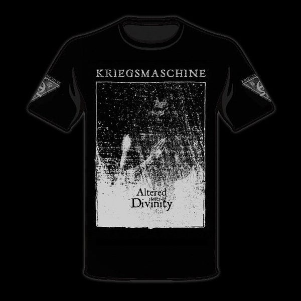 Image of KRIEGSMASCHINE - 'Altered States of Divnity' men's t-shirt