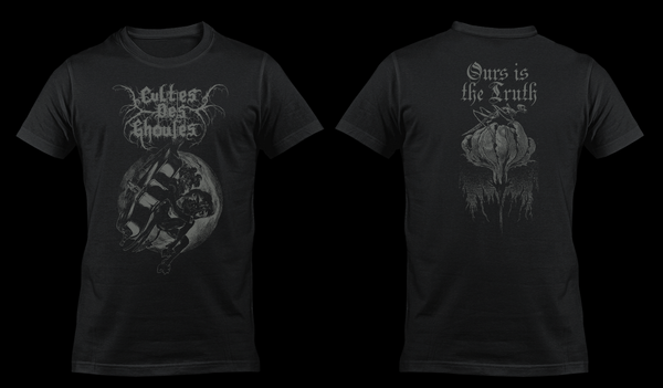 Image of CULTES DES GHOULES - 'Ours is the Truth' men's t-shirt