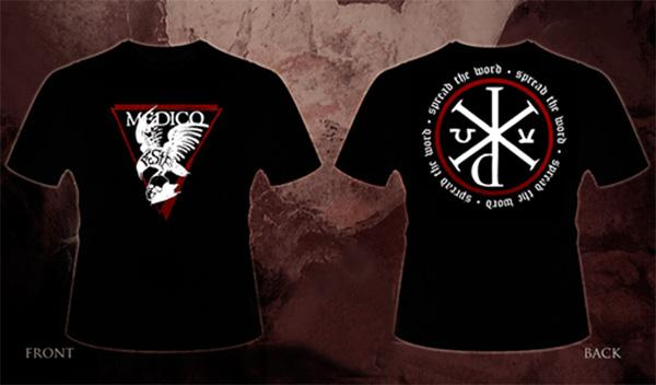 Image of MEDICO PESTE - 'Spread the Word' men's t-shirt
