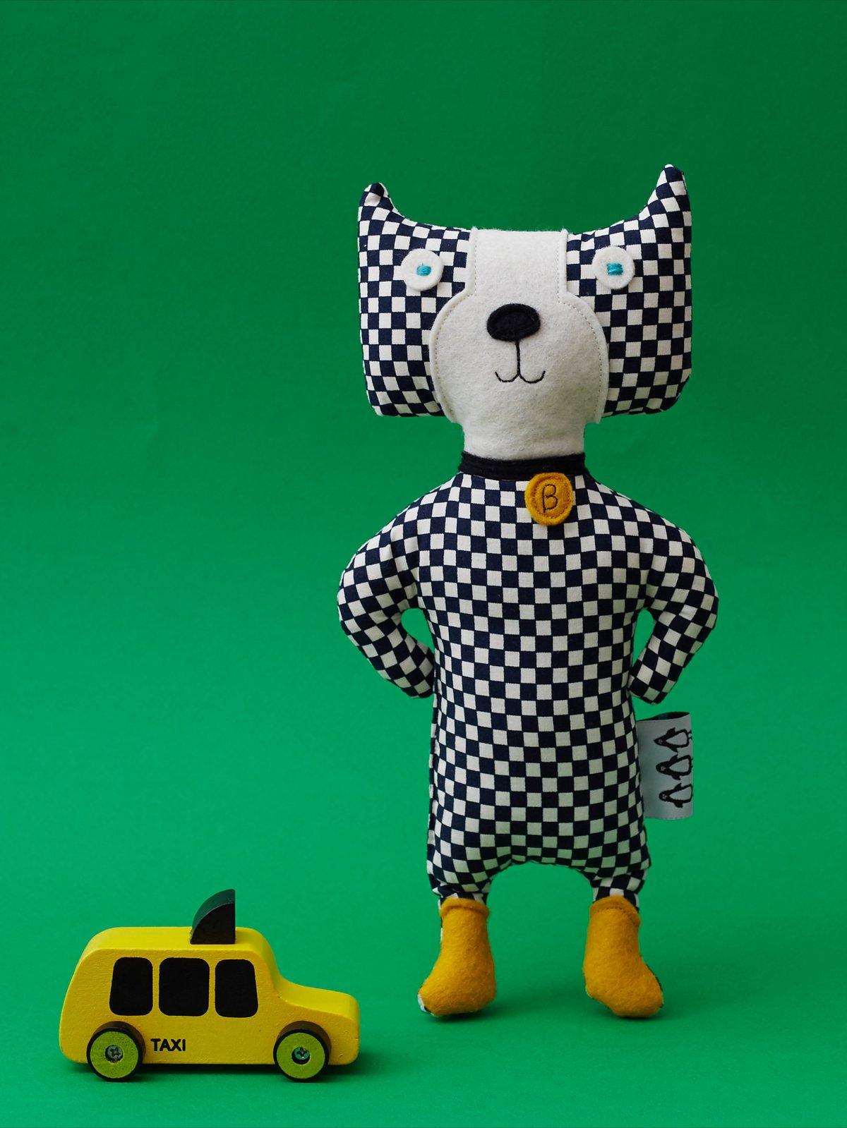 Image of Batman the Dog - Kid's Toy