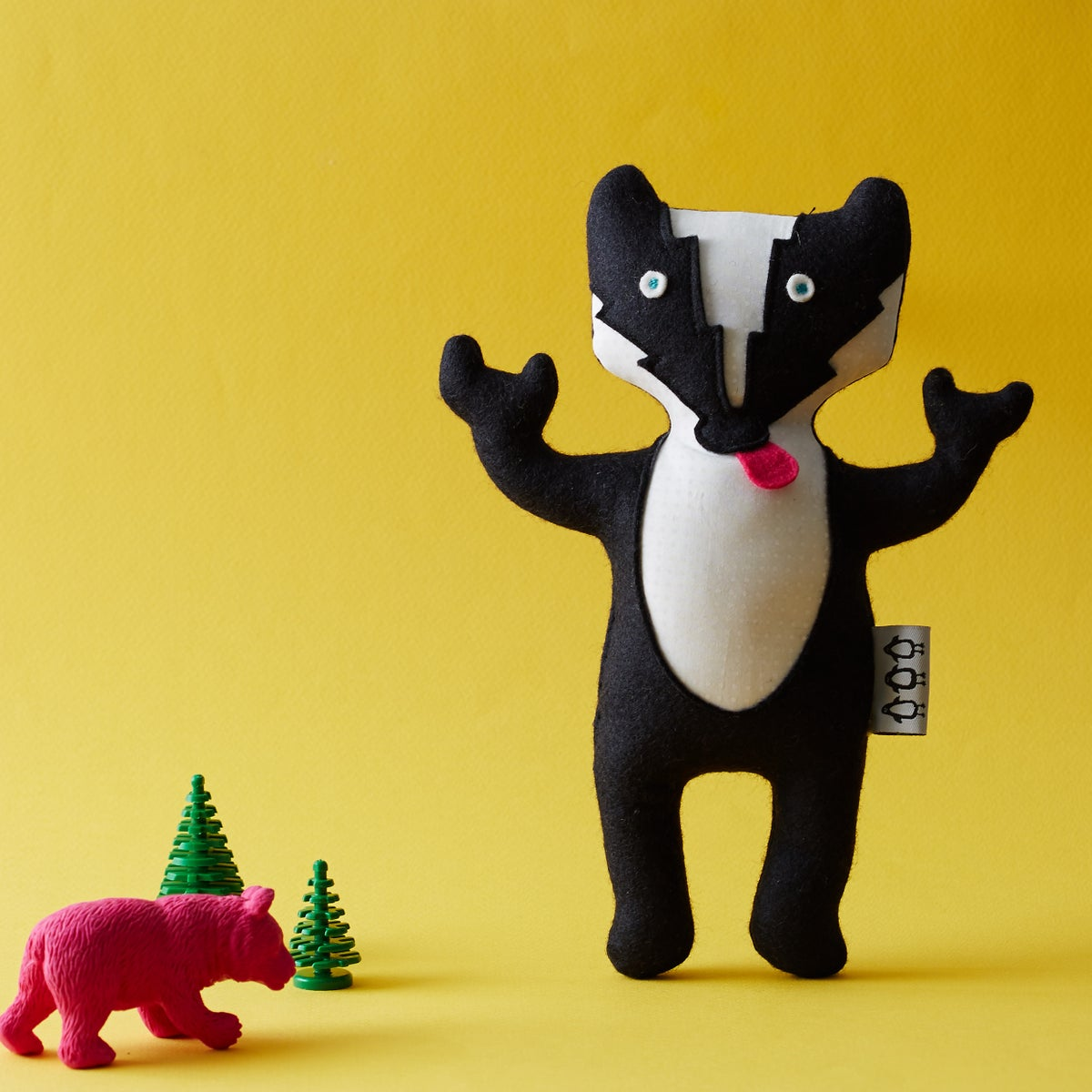 Image of Ace the Badger soft toy