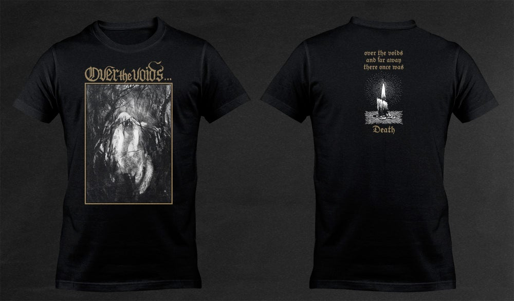 Image of OVER THE VOIDS... - 'Death' men's t-shirt