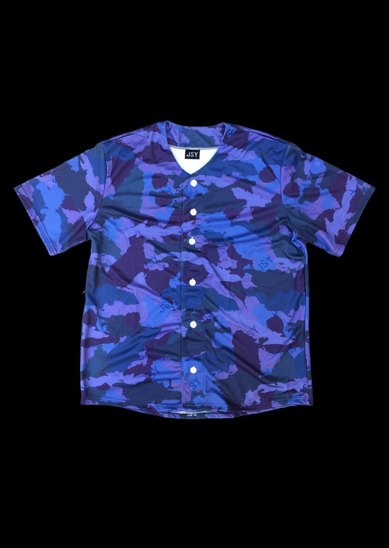 Image of BASEBALL VEST WI CAMO BLUE