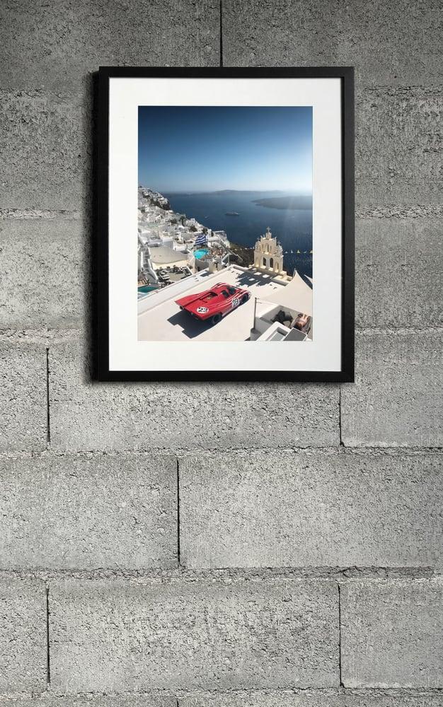 Image of Porsche 917 Santorini print 3