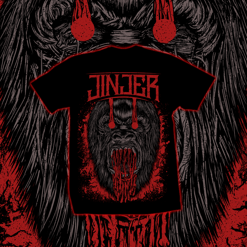 Image of JINJER - Ape - T-SHIRT