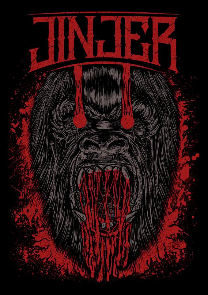 Image of JINJER - Ape - T-SHIRT