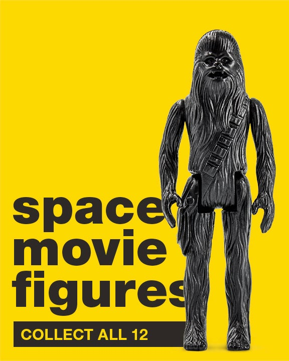 Image of GENERIC SPACE MOVIE INACTION FIGURES