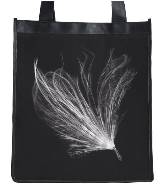 Image of B&W Reusable Shopping Bags 100% RECYCLABLE AND BIODEGRADABLE