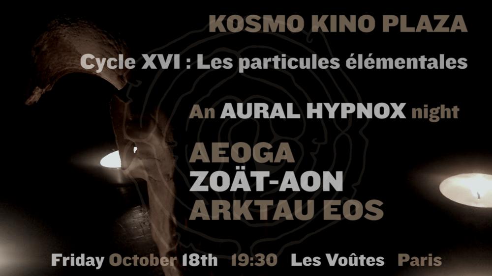 Image of KKP XVI // 18.10.2019 @ Les Voûtes, Paris