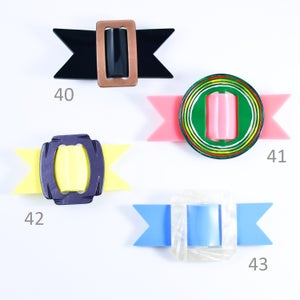 Image of Buckle Brooches 40 to 43