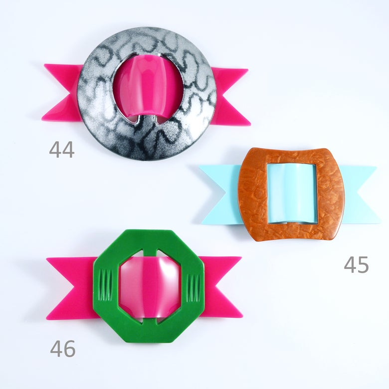 Image of Buckle Brooches 44 to 46