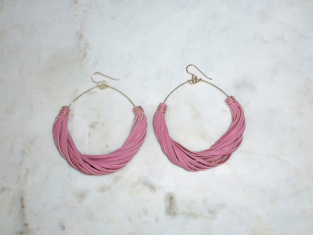 Image of Rebel Chic Signature Hoops Pastels