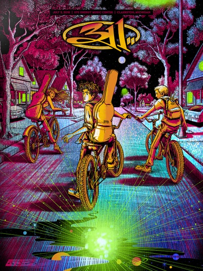 "Image of 311 - Detroit, MI 2019 - ""Tinsel Twilight"" HoloFoil Variant"