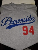Brownside Baseball Tee