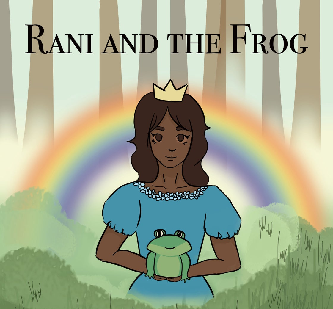 Image of Rani and the Frog - English