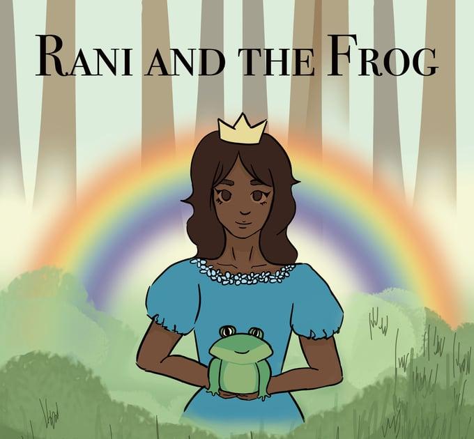 Image of Rani and the Frog - English