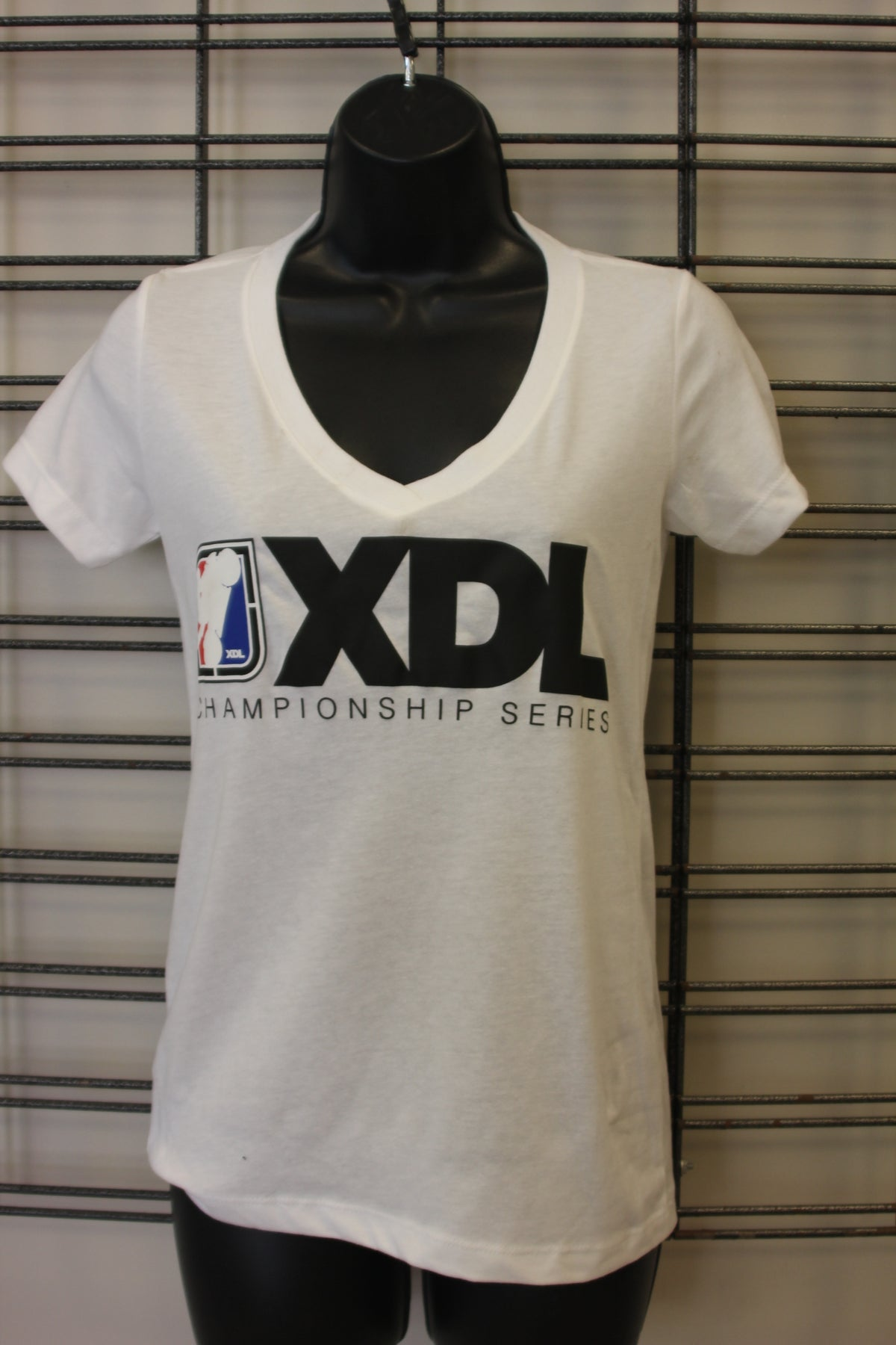 Image of Ladies XDL Rectangle Logo V-Neck