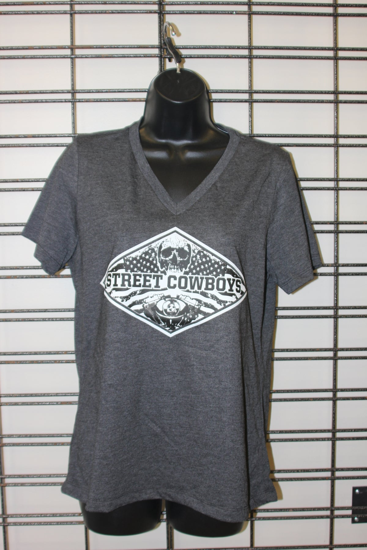 Image of Women's StreetCowboys Logo VNeck