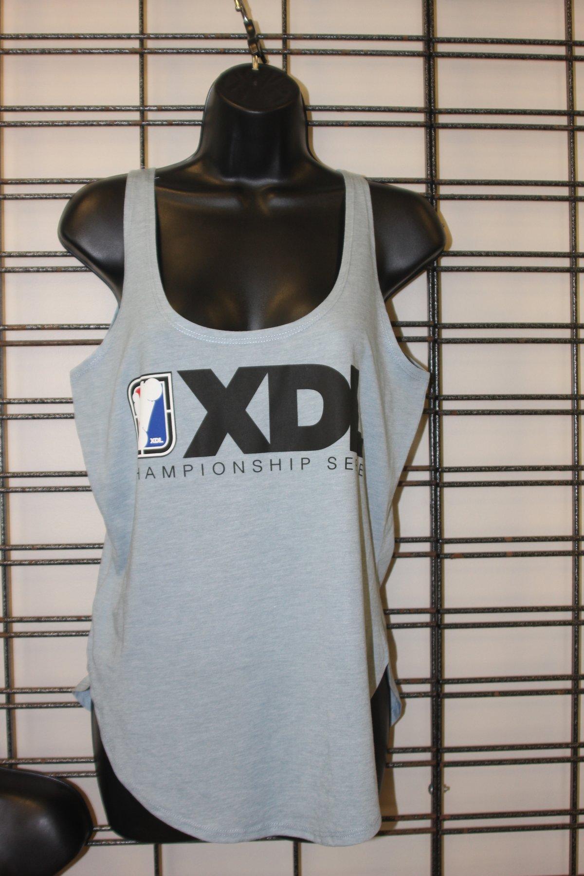 Image of Ladies XDL Rectangle Logo Festival Tank