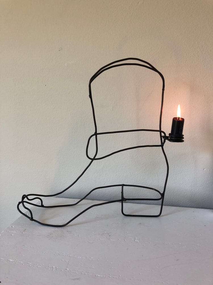 Image of Cowgirl Boot Candle