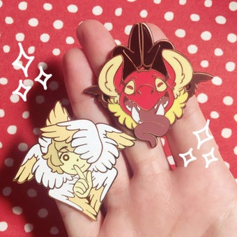 Image of [un]Divine enamel pins