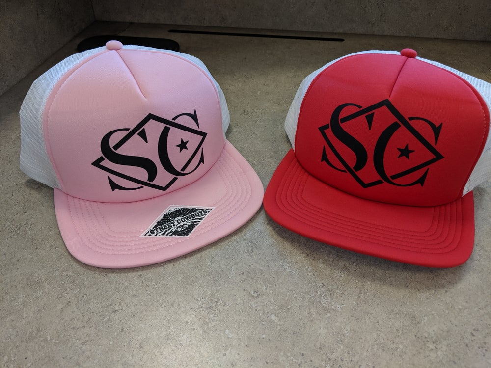 Image of StreetCowboys SC Logo Trucker Hat