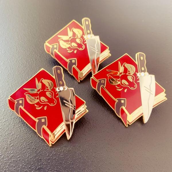 Image of Pagan Book Enamel Pin
