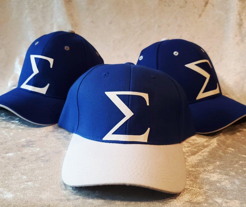 Sigma Baseball Caps - Velcro Back