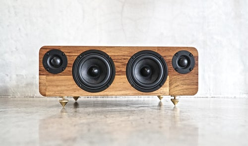 Image of MIN660 Wooden Wireless Speakers