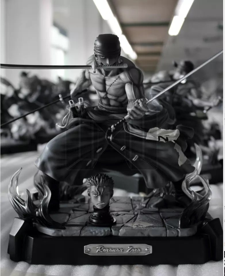 Image of [IN-STOCK] One Piece Model Palace Zoro VIP Version Resin Statue