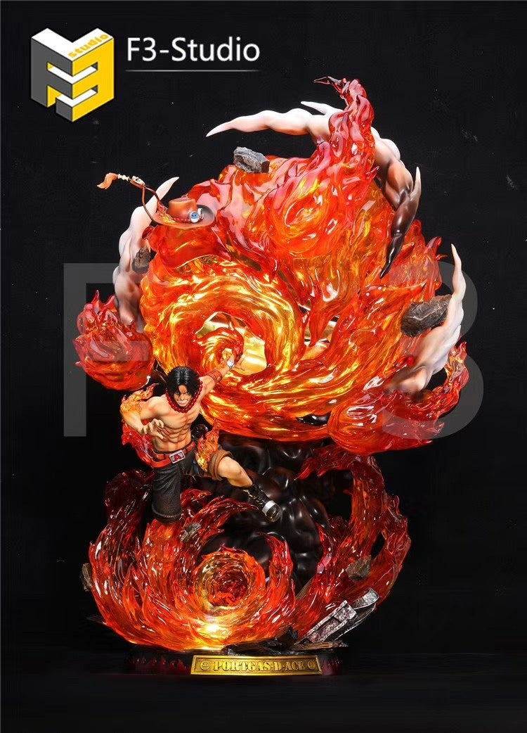 Image of [Pre-Order]One Piece F3 Studio Ace Resin Statue