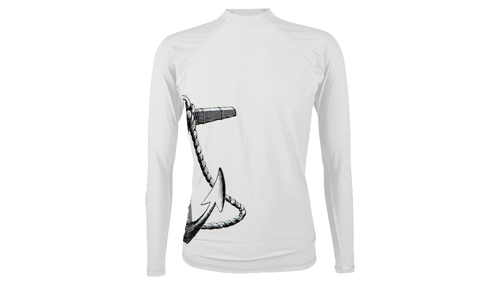 Image of Ink or Swim 'Anchored' Men's SPF 50 Shirt