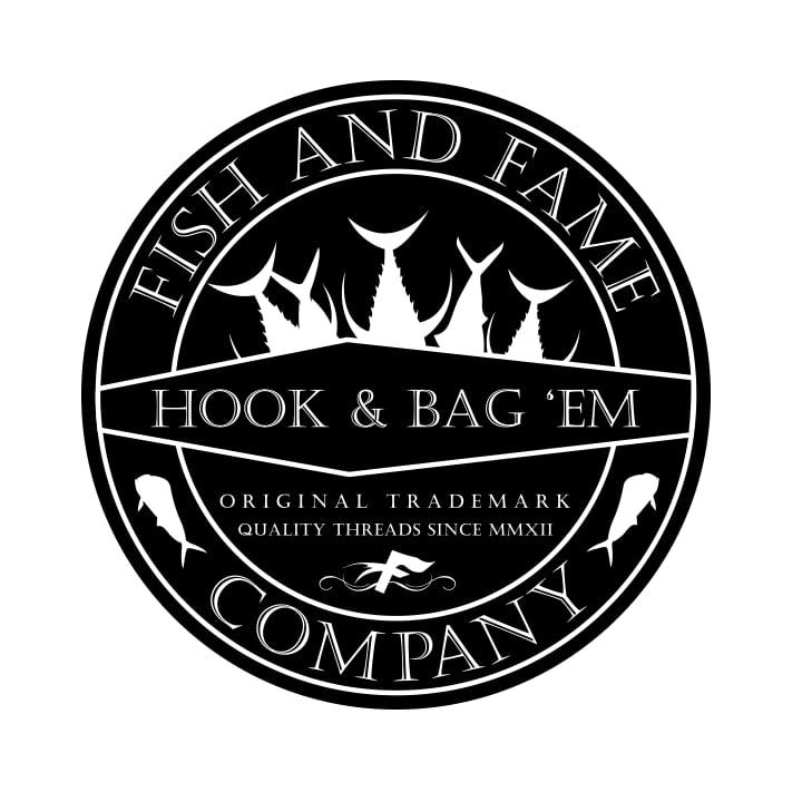 Image of Hook & Bag Em' Decal