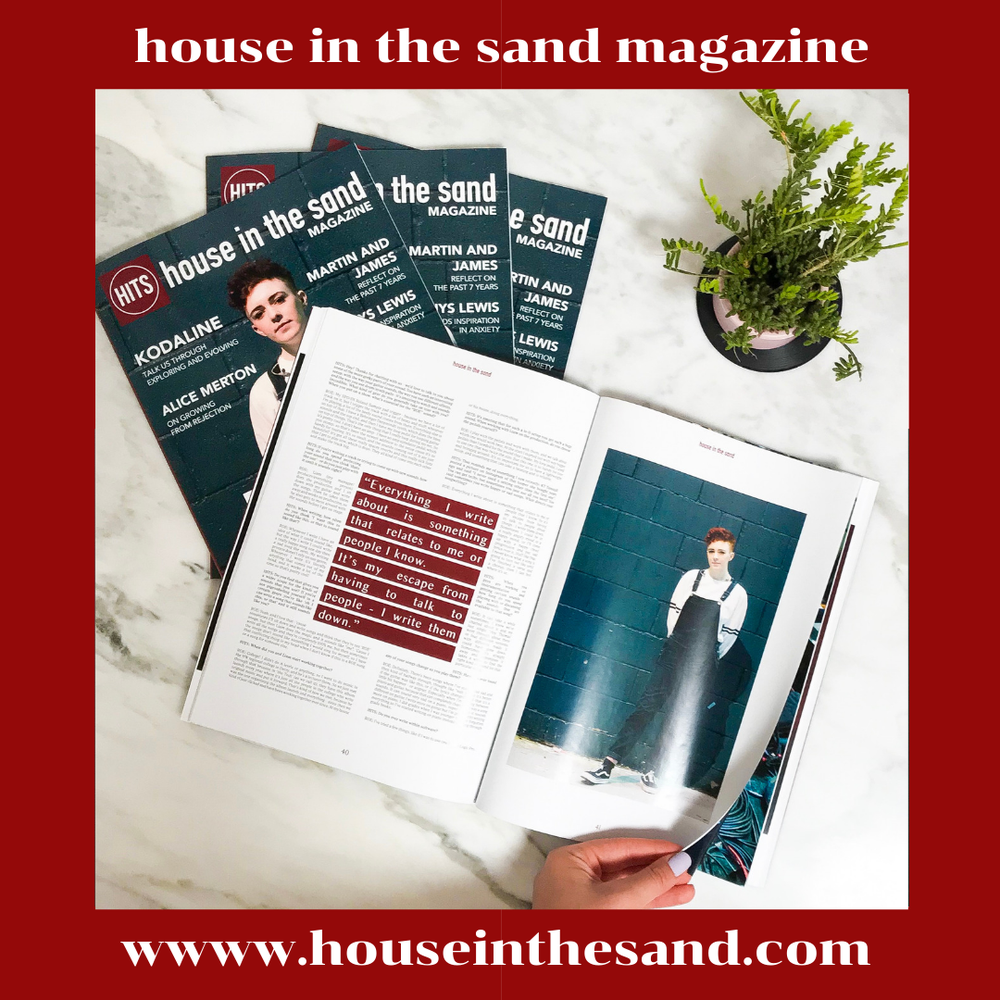 Image of house in the sand magazine - issue #1