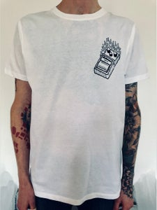 Image of Shirt: Pedal White