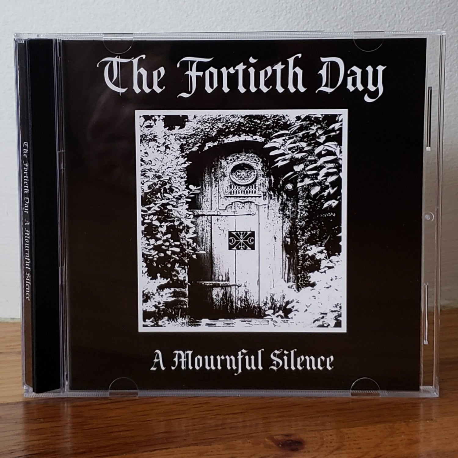 """Image of The Fortieth Day """"A Mournful Silence"""" CD"""