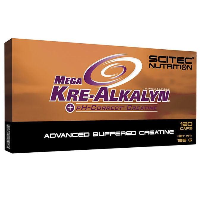 Image of Scitec Mega Kre-Alkalyn (120 Capsules)