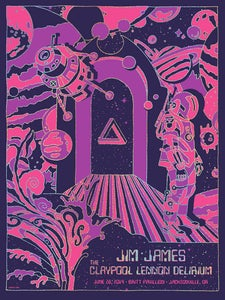 Image of Jim James / Claypool Lennon Delirium Sparkle Foil Variant
