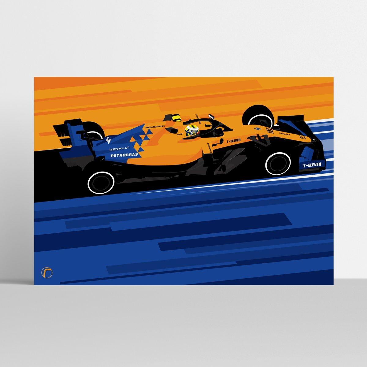 Image of McLaren MCL34 | Norris