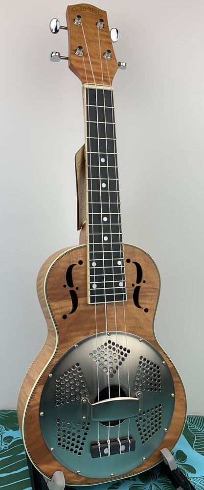 Image of Gold Tone Resonator Ukulele Concert Size