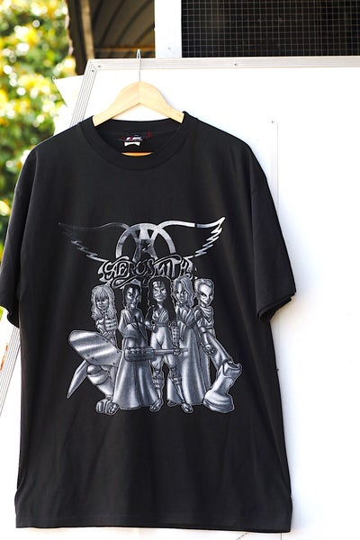 "Image of Rare 1999 Vintage Giant ""AEROSMITH- Roar Of The Dragon Tour"" Concert Tee"