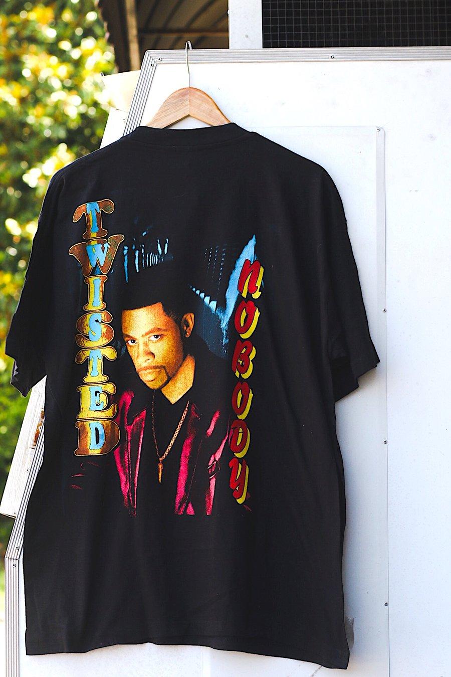 "Image of Rare 1996 Vintage Bay Club ""KEITH SWEAT- Twisted/Nobody"" Rap Tee"