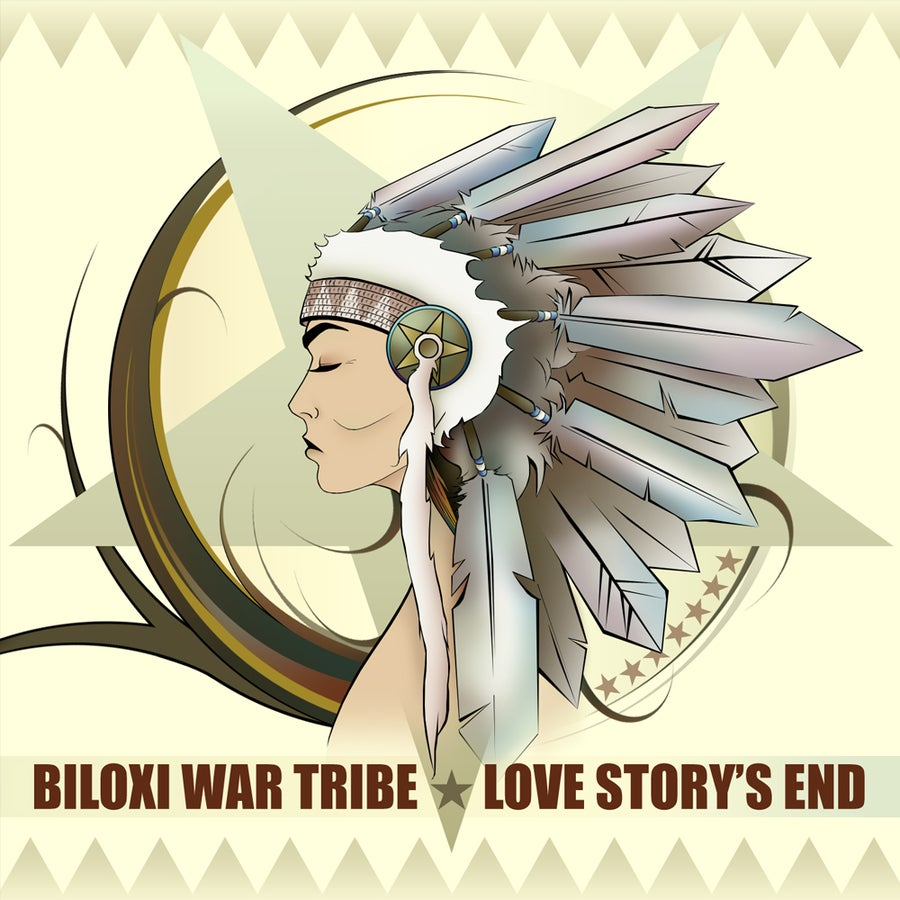 "Image of Love Story's End - ""Biloxi War Tribe"" CD"
